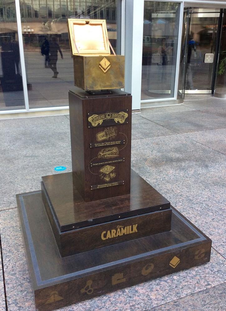 Caramilk Mystery Boxes<br>| Cadbury |