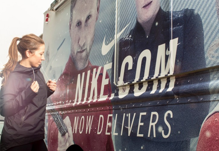 Delivery Truck<br>| NIKE |