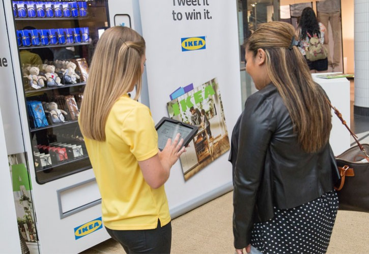 Social Vending Machines<br>| IKEA |