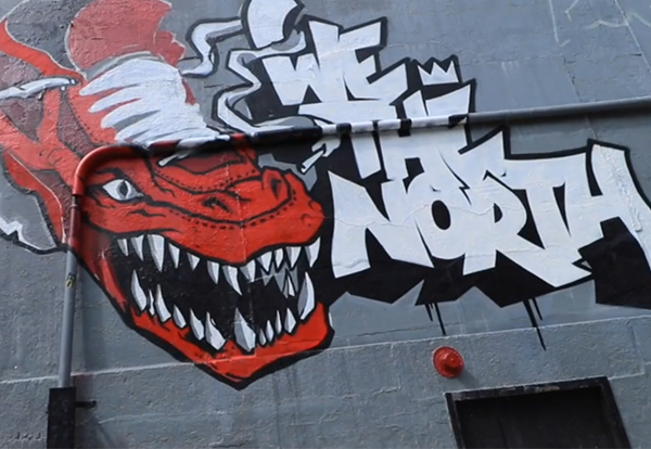 Graffiti Murals<br> | Toronto Raptors |